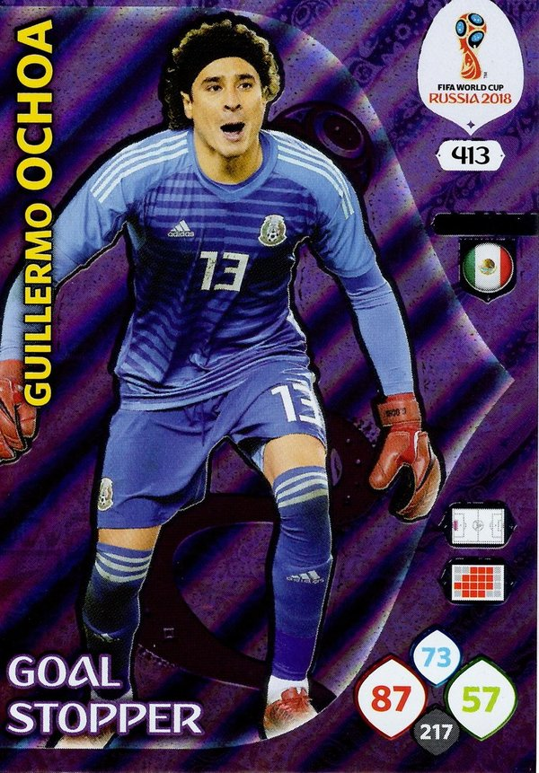 PANINI [FIFA World Cup Russia 2018 Adrenalyn XL] Trading Card Nr. 413