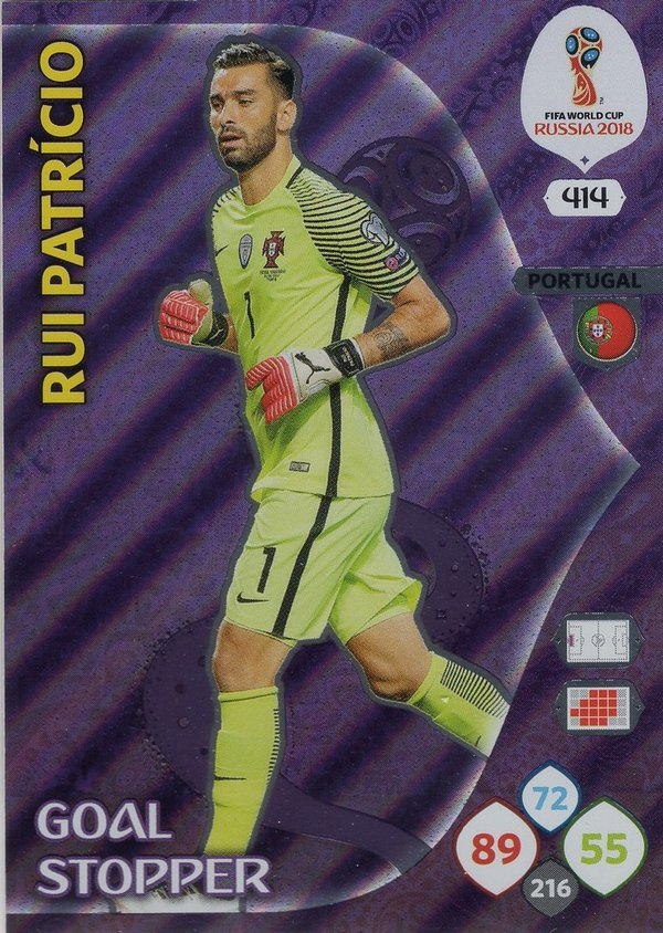 PANINI [FIFA World Cup Russia 2018 Adrenalyn XL] Trading Card Nr. 414