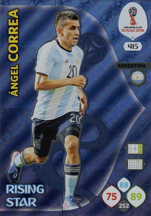 PANINI [FIFA World Cup Russia 2018 Adrenalyn XL] Trading Card Nr. 415