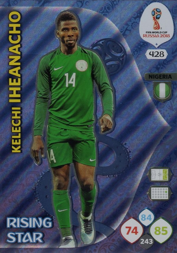 PANINI [FIFA World Cup Russia 2018 Adrenalyn XL] Trading Card Nr. 428