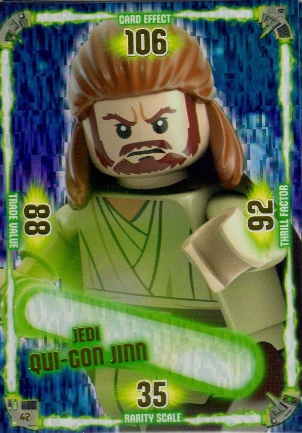 Star Wars Karte.Lego Star Wars Serie 1 Trading Card Jedi Karte Tc 042