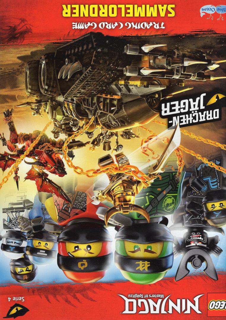 82 Krasser Killow Lego Ninjago Serie 4 TCG Sammelkarten Karte Nr