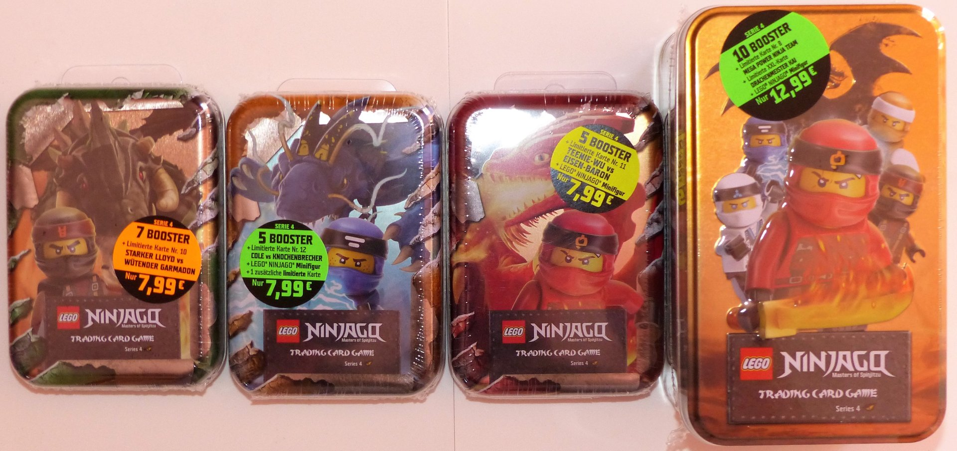 TRADING CARD EISEN-BARON Lego Ninjago limitiert Serie 4: LE 11 TEENIE-WU vs